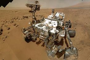 Le véhicule Curiosity est actuellement sur Mars pour analyser son environnement grâce à des instruments embarqués comme ChemCam et SAM.