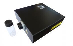 """Exemple d'un spectrophotomètre """"bas coût"""" compact (20x18x3 cm) développé par le laboratoire LMOPS de Supélec Metz permettant une mesure in situ et rapide !"""