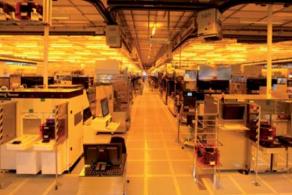 Photo de la salle blanche à Crolles. Source : Artechnique – STMicroelectronics