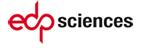 EDP Sciences, nouvelle fenêtre