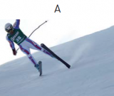 © Agence ZOOM skieurs : A) Yannick Bertrand.