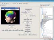 Interface graphique du logiciel Open-ViBE