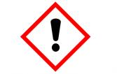 Symbole CLP SGH07 (Classification, Labelling and Packaging) J'altère la santé