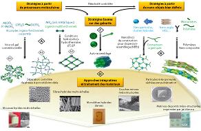 Étapes de recherche pour la synthèse de nouveaux matériaux pour catalyseurs. Les techniques de chimie sol-gel sont très fécondes.